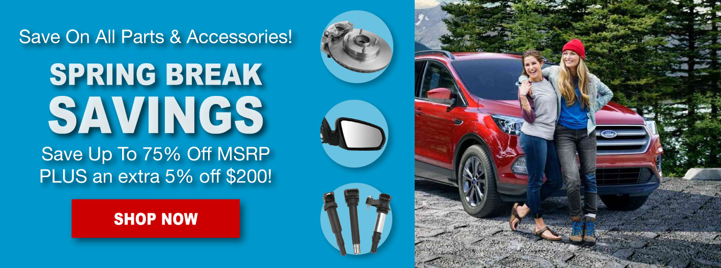 Discount Ford Spring Break Sale