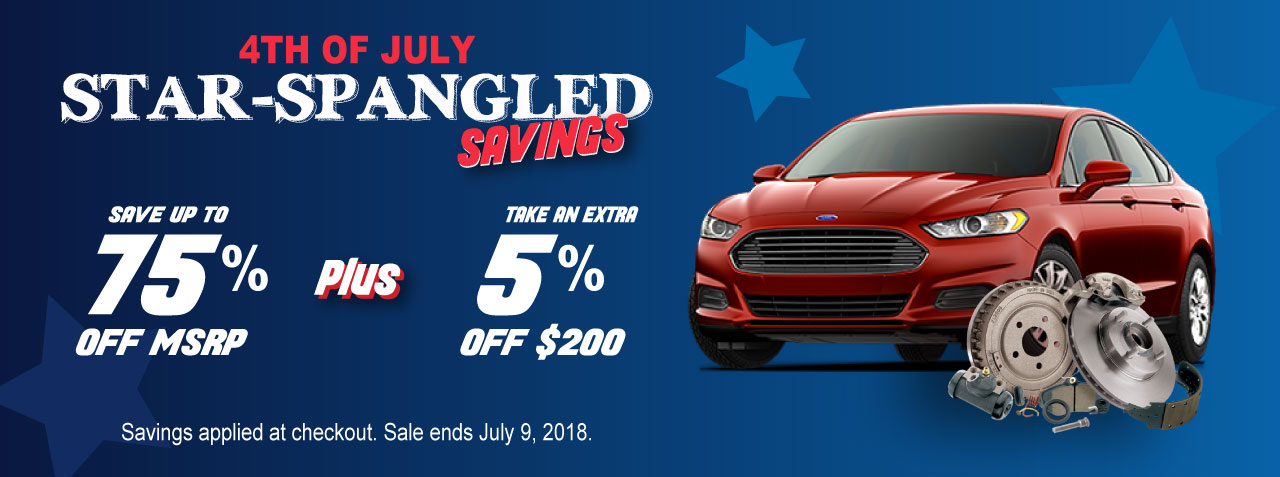 Sound Ford 4th of July Sale